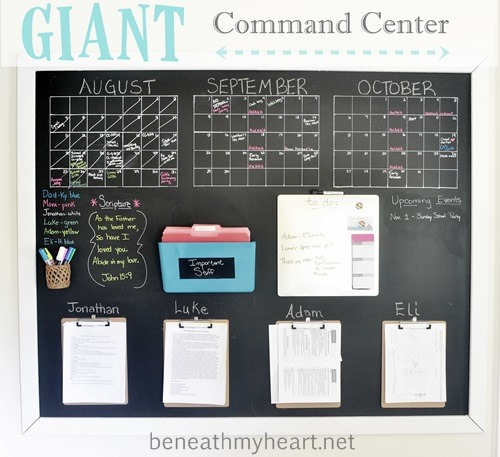 12 Fabulous Family Command Centre Ideas