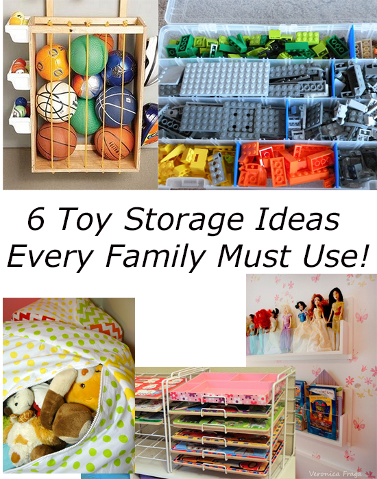 6 Genius Toy Storage Ideas Every Family Must Try!