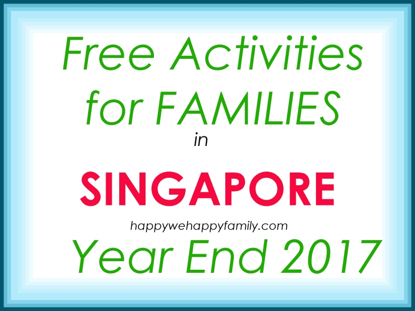 FREE Family Activities: Make the Most of the Holidays in Nov-Dec2017